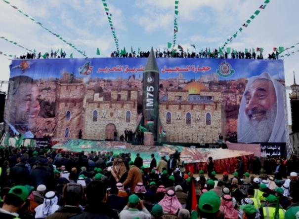 משעל בחגיגות החמאס: לא נוותר על אף שעל