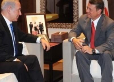 """ראש הממשלה והמלך הירדני בפגישה קודמת (צילום: אבי אוחיון/ לע""""מ)"""