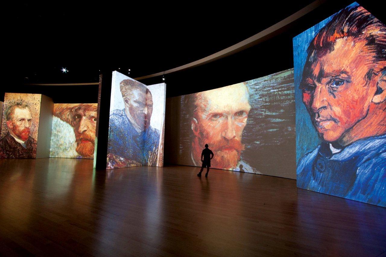 Центр дизайна artplay ван гог