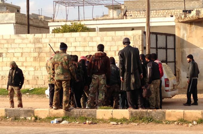 כוחותיו של אסד הצליחו להשתלט על מובלעת המורדים בחומס