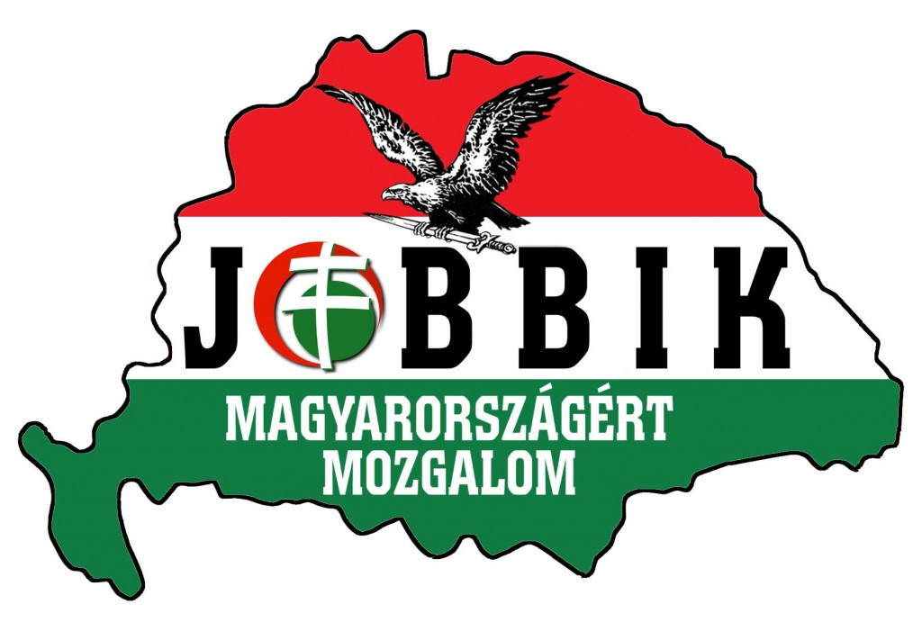 סמלה של מפלגת JOBBIK האנטישמית