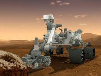 הדמיה של רכב החלל קיוריוסיטי