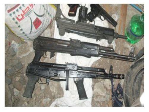 """נשק שנתפס ברשות החוליה (צילום: השב""""כ)"""