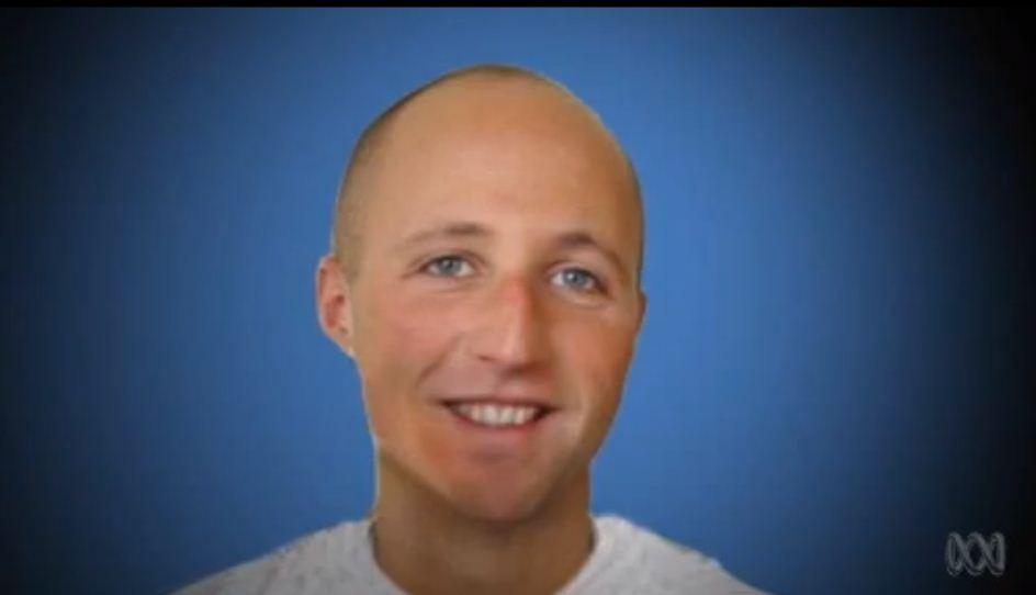 בן זיגייר-אלון, האסיר שהתאבד (צילום: מכתבת התחקיר של הטלוויזיה האוסטרלית)