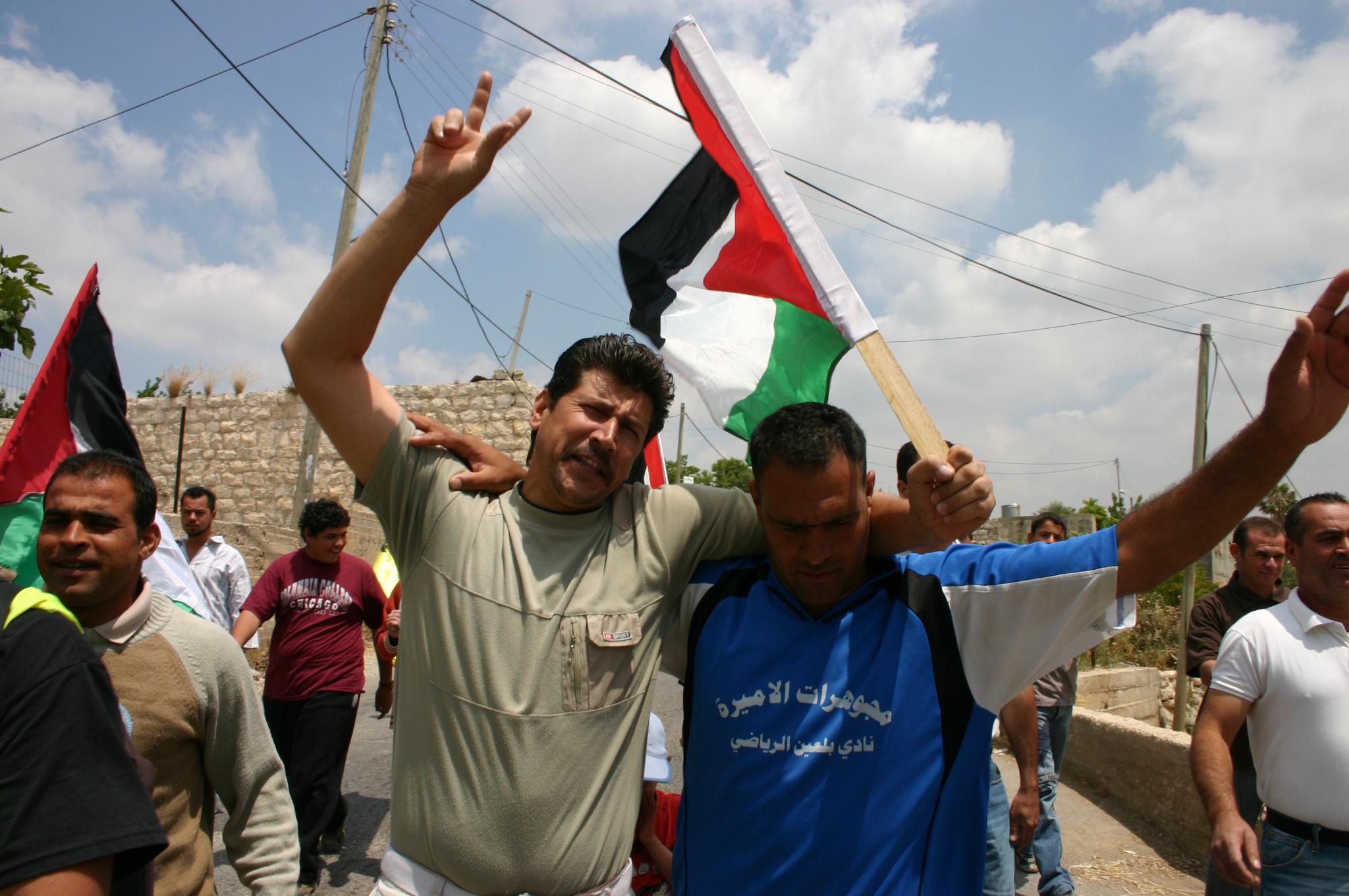 התהליך המדיני הוא עניין שבין הפלסטינים לאחיהם הערבים