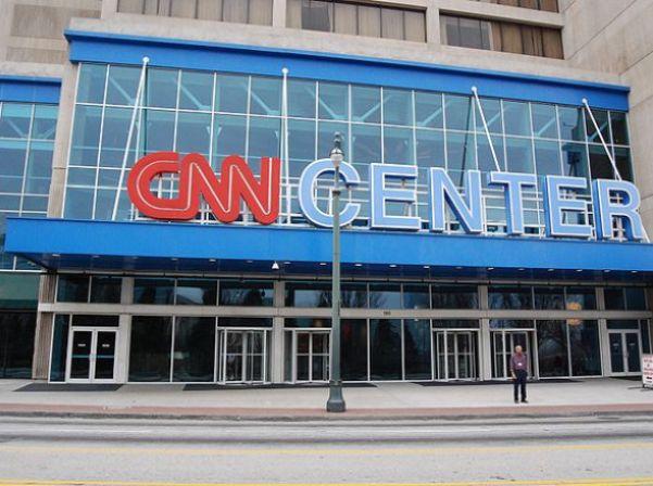 מרכז CNN באטלנטה (צילום: ג'וש האלט, ויקימדיה)