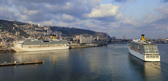 שנת 2012 – שנת שיא בתיירות הימית בנמל חיפה