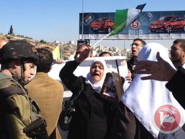 הפגנות ברחבי הגדה למען אסירים פלסטינים שובתי רעב