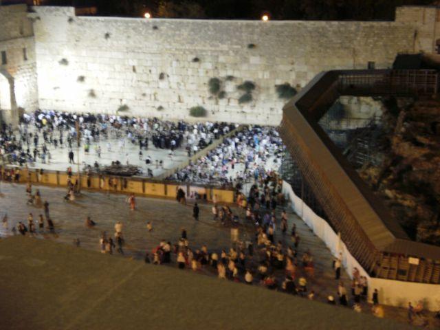 הכותל המערבי. הסדרי תנועה מיוחדים לקראת העלייה לרגל לירושלים. צילום: עירית רוזנבלום