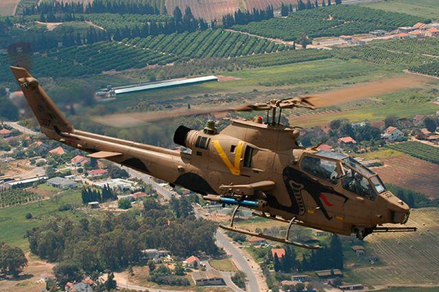 מסוק קוברה (צפע). כלי טיס מאוד מורכב. צילום: ארכיון חיל אוויר