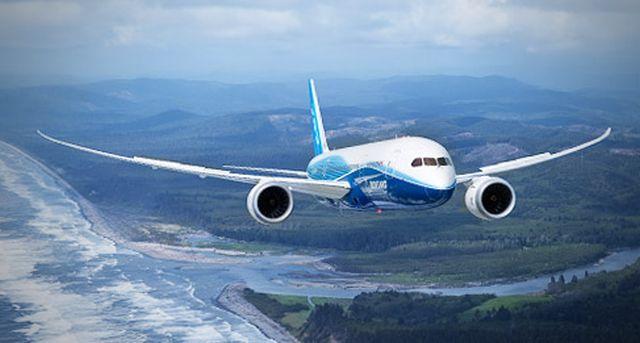 בואינג 787 דרימליינר. בוצעה טיסת ניסוי למערכת סוללת ליתיום-יון המשודרגת