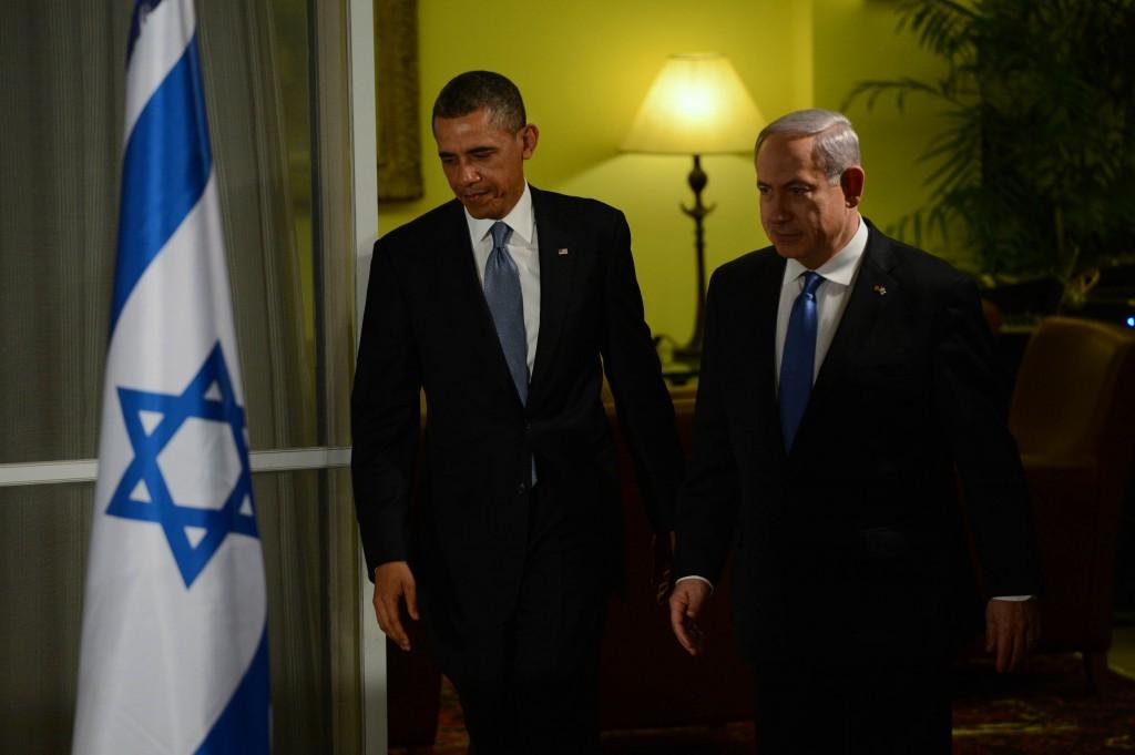 """מתואמים. ברק אובמה ובנימין נתניהו (צילום: קובי גדעון/לע""""מ)"""
