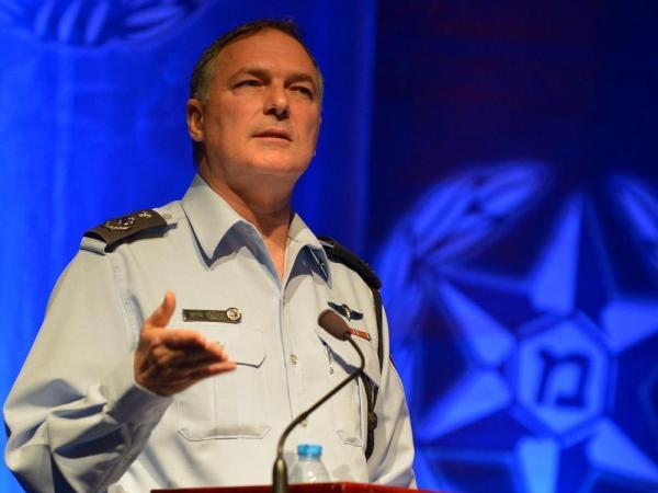 """""""המשטרה לא תהיה כלי משחק בידי אף גוף פוליטי"""". דנינו היום (צילום: משטרת ישראל)"""