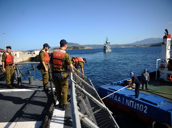 """הסתיים תרגיל צבאי משותף ליוון, ארה""""ב וישראל"""