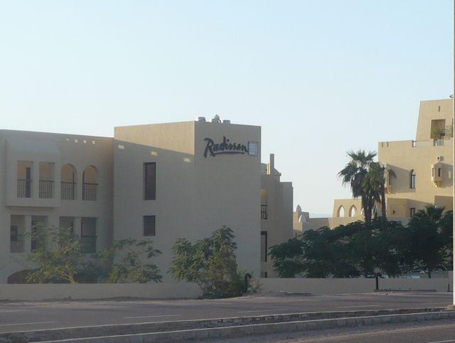 מלון רדיסון עקבה. יש חשיבות גבוהה למשיכת רשתות בינלאומיות מובילות לאזור. (צילום: עירית רוזנבלום)