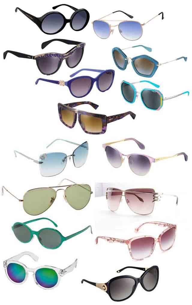 משקפי שמש בשלל דגמים וצבעים