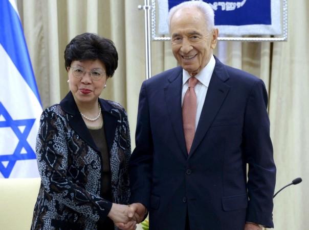 """נשיא המדינה ומנכ""""לית ארגון הבריאות העולמי. """"ביקור היסטורי"""" (צילום: מארק ניימן/ לע""""מ)"""