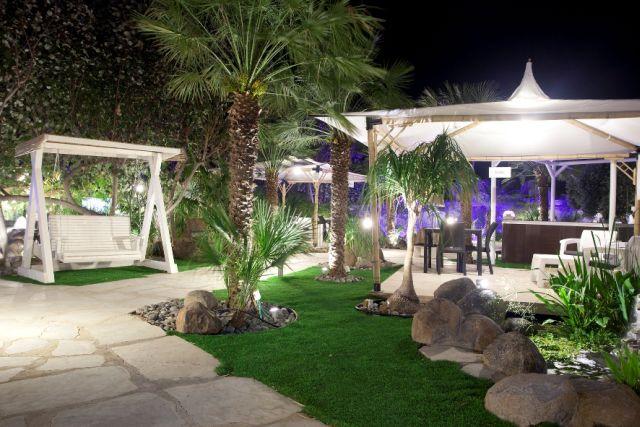 מתחם ספא אקויה בחמי יואב:  15 חדרי טיפולים בעיצוב רוגע, הממוקמים בגן אירוח עשיר בצמחיה מרהיבה וג'קוזי חיצוני