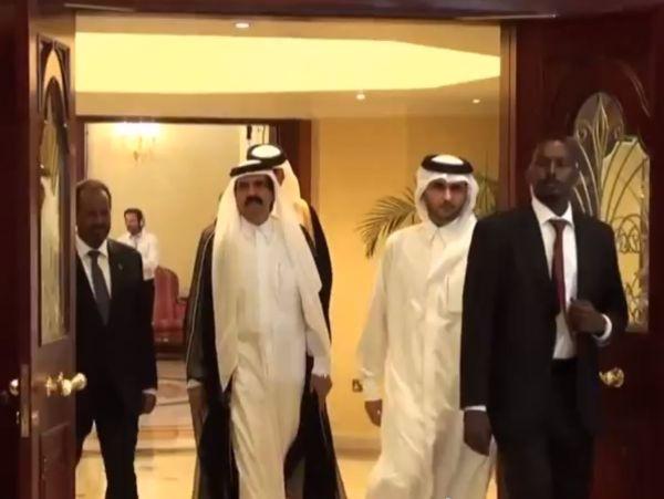 כינוס הליגה הערבית בדוחא (צילום: יוטיוב)