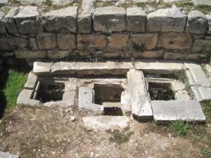 אתר הר גריזים. הוא כולל בתוכו את שרידי העיר ההלניסטית, מתחם הביזנטי  ושרידים מהתקופה הפרסית. (צילום: ענת מנדל)