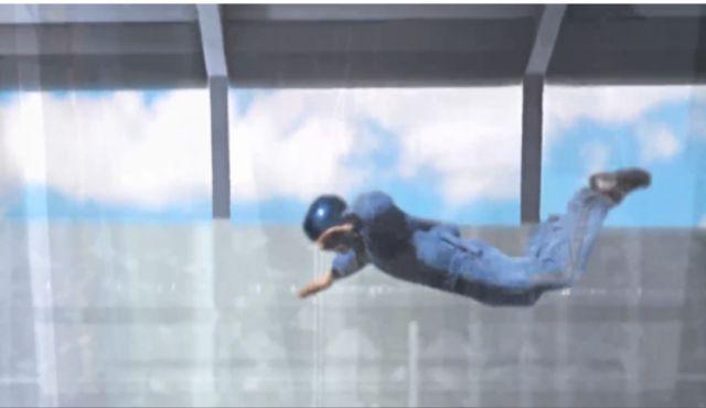 ריחוף בגובה של 100 מטרים בנוסח צניחה חופשית על הקוואנטום