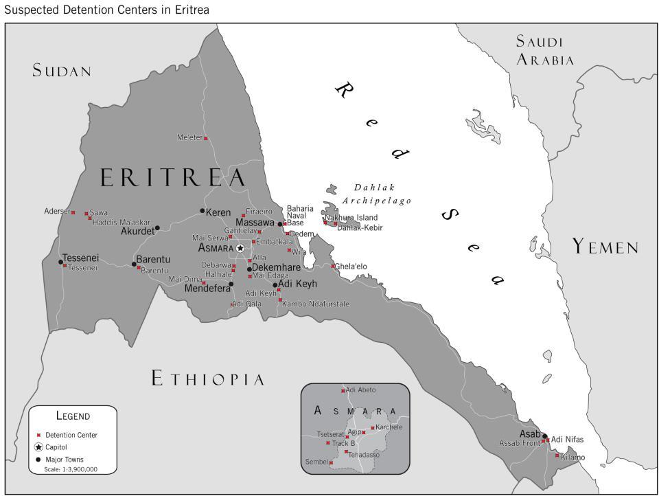 20 שנות עצמאות באריתריאה, ללא זכויות אדם