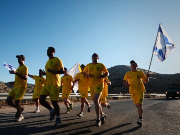 מרוץ גולני החל היום בחרמון ויסתיים באילת