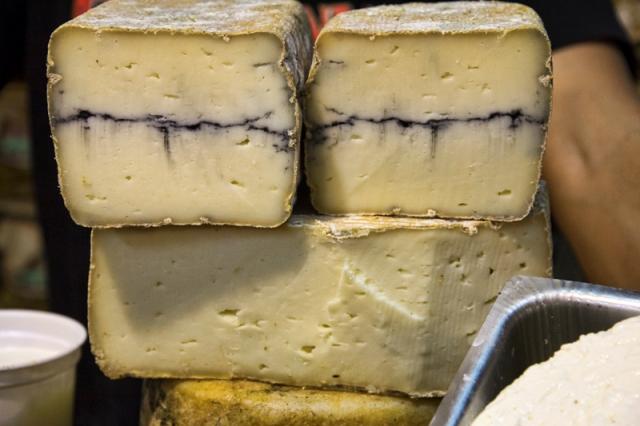 עושר של גבינות איכותיות (צילום: דן בר-דוב)