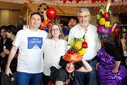 מימין: דב קוטלר, מאורה שלגי ואורן כהן בוטנסקי