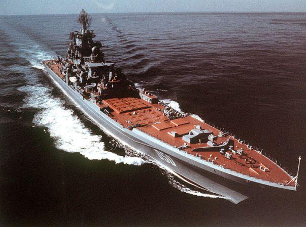 רוסיה קידמה ספינות קרב לים התיכון