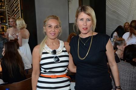 דלית הראל ומשמאלה איילה מולדבסקי