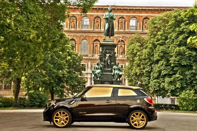 """מכונית ה- """"Life Ball MINI 2013"""". צילום באדיבות BMW GROUP"""