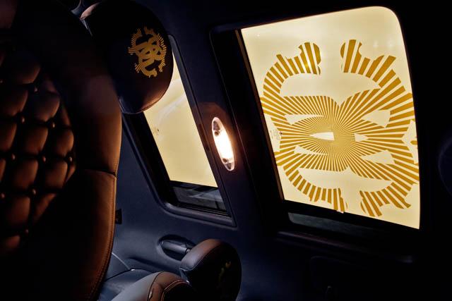 """קוואלי - גם על הגג. """"Life Ball MINI 2013"""". צילום באדיבות BMW GROUP"""