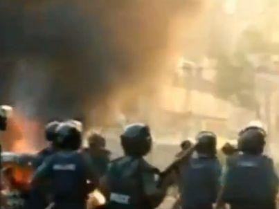 קרבות רחוב בדאקה