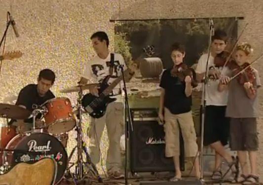 קייטנת מוזיקה וכיתות אמן לנוער במגידו