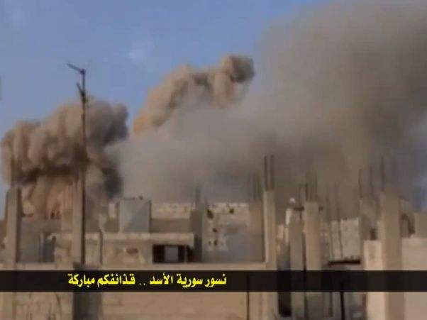 הקרבות בקוסייר (צילומים של הצבא הסורי)