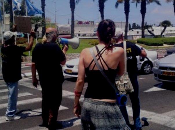 פעילי מחאה חסמו את צומת נהריה לסירוגין