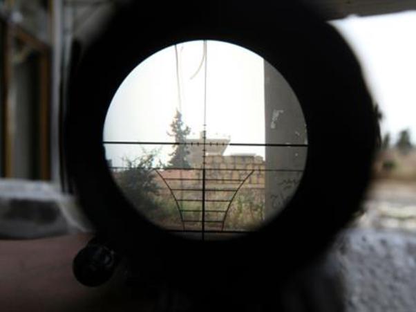 """חאלב על הכוונת של צבא אסד (צילום אילוסטרציה של """"לבנון ניוז"""")"""