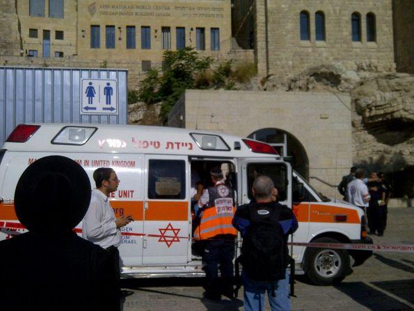 יהודי נורה למוות על ידי מאבטח בכותל המערבי