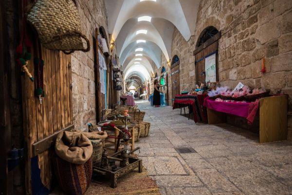 הבזאר הטורקי המחודש בלב עכו (צילום: אריק סאלין)
