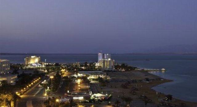 מלונות ים המלח. 41% מסך כל הלינות במלונות הן של תיירים (צילום: alberto pral, אתר משרד התיירות)