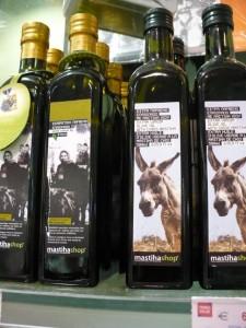 """שמן זית יווני. יוון בראש היעדים בחו""""ל. (צילום: עירית רוזנבלום)"""