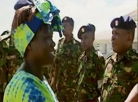 האשה הקטנה שגרמה לצבא לטעת עצים
