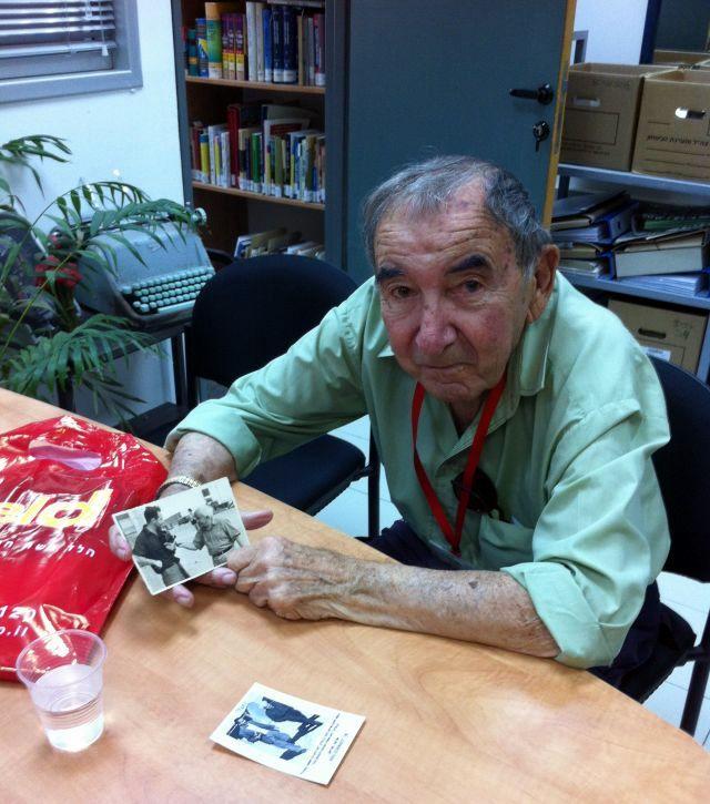 """בן גוריון ואני - ראיון עם שלמה (מילו) סוריאנו בארכיון צה""""ל"""