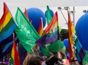לא ארגון חשאי. מצעד הקהילה הגאה השבוע (צילום: דן בר דוב)