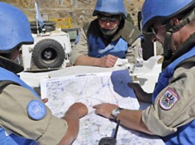 """כתובת לתלונות ומסרים. חיילי אונדו""""ף בגולן (מתוך אתר הארגון)"""