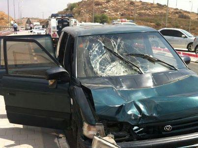 תאונה בשומרון (צילום: משטרת ישראל)