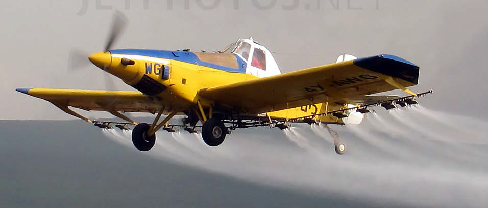 מטוס טורבו טראש שפגע בחוטי חשמל