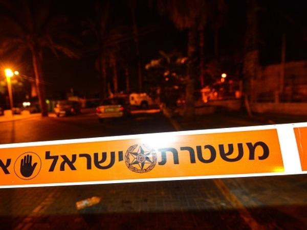 זירת הרצח באביחיל (צילום: משטרת ישראל)