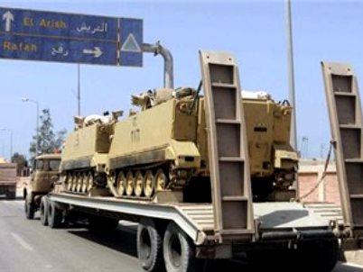 שלושה פועלים מצרים נהרגו במתקפת טרור בסיני